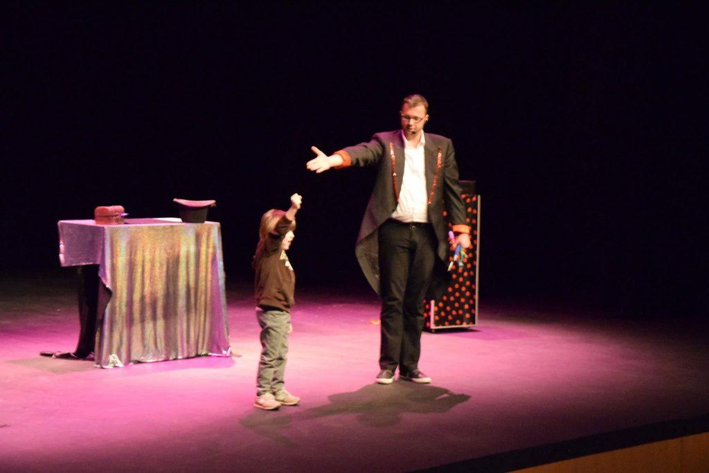 Magie avec les enfants